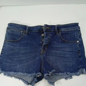 Roxy denim cutoff short